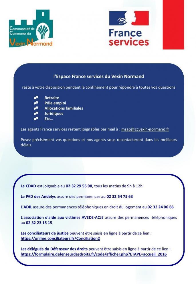 Affiche france services
